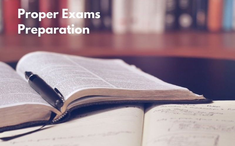 Tips on Proper Exams Preparation